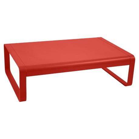 Table basse BELLEVIE tout aluminium laqué