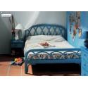 Chambre en rotin en couleurs
