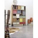 Meuble Histoire à tiroirs ARTCOPI bois et métal