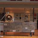 Meuble Histoire à tiroirs bois et métal