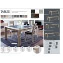 Pieds de table au choix Concept Table